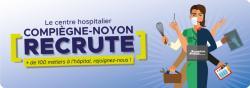 Le CH Compiègne-Noyon recrute : postulez en ligne !