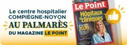 Le centre hospitalier au palmarès du magazine Le Point