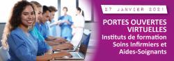 Portes ouvertes virtuelles de l'IFSI / IFAS le 27 janvier 2021